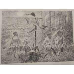 Cândido Portinari - Morto - 33 x 47 - Sem moldura - È uma reprodução da obra Carnaúba, feito pela editora Cultrix da Série Mestres do Desenho