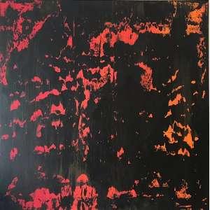 Gilberto Rosado - Volcanic Nigth- A.S.T. - Tam 100 x 100 - ano 2018 <br /><br />ESTA OBRA ESTA NO ATELIER DO ARTISTA E SERÁ ENVIADA DIRETAMENTE PARA O ARREMATANTE JUNTO COM CERTIFICADO DE AUTENTICIDADE.