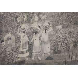 Cândido Portinari - Colheita - 33 x 47 - Sem moldura - È uma reprodução da obra Carnaúba, feito pela editora Cultrix da Série Mestres do Desenho