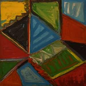 Ana Marília Braga - Ano 2004 - Abstrato anotam 100 x 100