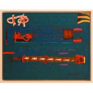 Siron Franco - titulo fundo do rio - TAM 1,00 x 1,30 - Acrílica sobre tela