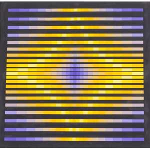 Yavaral Jean Piere - Titulo Structure Progressive - Acrílica sobre tela - tam.1,20 x 1,20