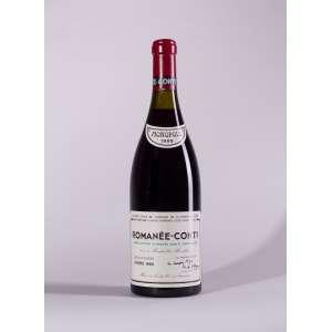 Romanee Conti, Romanee Conti 1989<br>Vosne-Romanée - Borgonha - França<br>WS 97<br>Quant: 1 gf(s) - 750ml