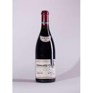 Romanee Conti, Romanee Conti 1995<br>Vosne-Romanée - Borgonha - França<br>WS 98 / RP 95<br>Quant: 1 gf(s) - 750ml<br>Rótulo Danificado