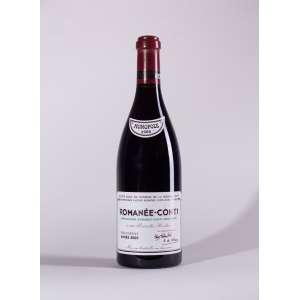 Romanee Conti, Romanee Conti 2000<br>Vosne-Romanée - Borgonha - França<br>RP 96 - 98<br>Quant: 1 gf(s) - 750ml