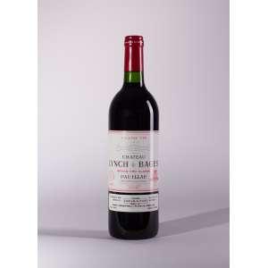 Château Lynch Bages 1990<br>Pauillac - Bordeaux - França<br>RP 99<br>Quant: 1 gf(s) - 750ml