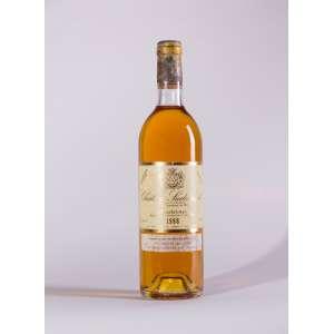 Château Suduiraut 1988<br>Sauternes - Bordeaux - França<br>WS 92<br>Quant: 1 gf(s) - 750ml