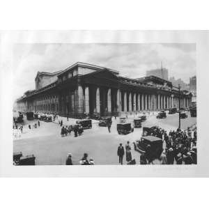 Brown Brothers - Penn Station: Fotografia da Penn Station. Carimbo The New York Times Photo Collection em relevo. No verso, ?Penn Station, 1909. Photo from brom Brothers (?)?. Dimensões 20 x 30 cm. Autor: Brothers, Brown.