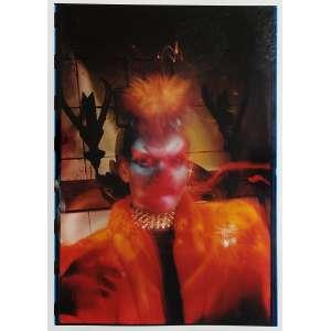 Ruddy Candillon - Homem Maquiado Noite de São Paulo: Homem estilizado sobre fundo escuro. Assinatura do autor, tiragem, data e data de impressão no c.i.d. à tinta. Dimensões 61 x 42,5 cm. Autor: Candillon, Ruddy.