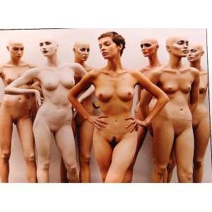 Rankin - Mannequine of femeles nudes: Fotografia com sete nus femininos, entre manequins e humanos; sem tiragem. Dimensões: 99 x 121 cm.