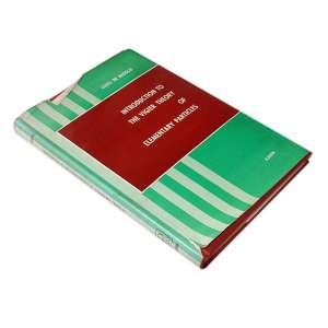 Introduction to the Vigier Theory of Elementary Particles: Livro de capa dura ocre com sobrecapa verde e ocre. Dimensões 23 x 16 cm. Autor: Broglie, Louis de.