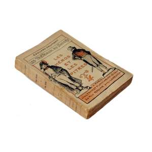 Les Tréteaux Du Succès - Les Héros Et Les Pitres: Na capa, duas imagens masculinas com a escrita ?Les Héros Et Les Pitres? no meio. Dimensões 19 x 12 cm. Autor: Drumont, Édouard.