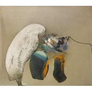 Manabu Mabe (1924 - 1997) - Sem título - óleo sobre tela - 130 x 150 cm - assinada canto inferior direito - 1968
