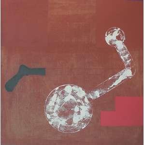 Antonio Dias (1944 - 2018) - Sem título acrílica sobre juta 120 x 120 cm assinada no verso 1988 Estimativa: R$ 350.000 - 400.000