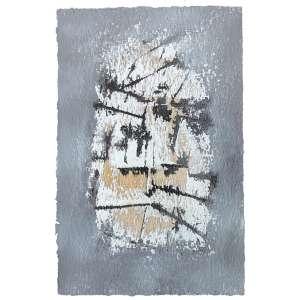 Antonio Bandeira (1922 - 1967) - Sem título guache e nanquim 25 x 16,5 cm sem assinatura Estimativa: R$ 15.000 - 20.000