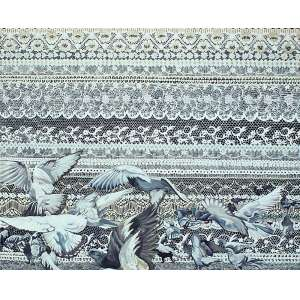 Ana Elisa Egreja (1983) - Vestido de Noiva - Série Gaiolas óleo sobre tela 120 x 140 cm assinada no verso 2007 Estimativa: R$ 70.000 - 80.000