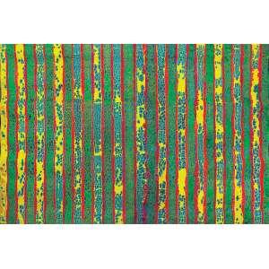 Delson Uchôa (1956) - Caesalpina Echinata acrílica sobre lona, resina e acrílica coagulada em papel celofane 190 x 265 cm 2010 Estimativa: R$ 80.000 - 100.000