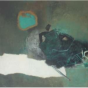 Manabu Mabe (1924 - 1997) - Sem título óleo sobre tela 150 x 150 cm assinada canto inferior esquerdo e verso 1964 Estimativa: R$ 190.000 - 240.000