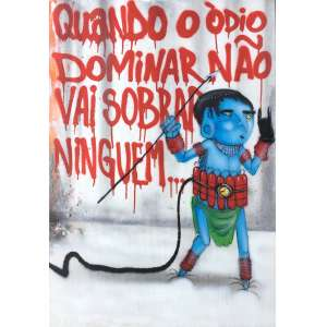 Crânio (1982) - Sem título - pintura sobre tela - 100 x 70 cm - assinada no verso - 2015
