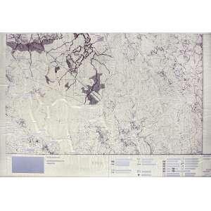 Marcelo Moscheta (1976) - VOID 003 - cut topographic map and aluminum - 62 x 89 cm - assinada no verso - 2010 - Acompanha certificado Galeria Leme.