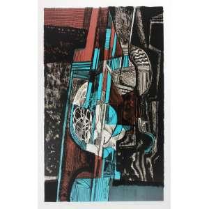 Roberto Burle Marx (1909 - 1994) - Ana - gravura 52/100 - 70 x 50 cm - assinada canto inferior direito - 1985