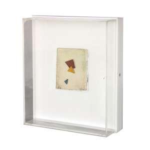 Arthur Luiz Piza (1928 - 2017) - BP 3 - aquarela e colagem - 9 x 7 cm - assinada canto inferior direito