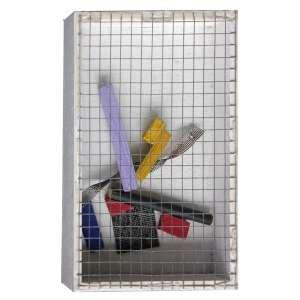 Arthur Luiz Piza (1928 - 2017) - T - 1538 Série manipuláveis - arame galvanizado, arame pintado e madeira pintada - 15 x 10 x 3 cm - assinada