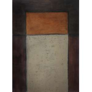 Mira Schendel (1919 - 1988) - Sem título - têmpera sobre cartão - 50 x 35 cm - assinada canto superior esquerdo