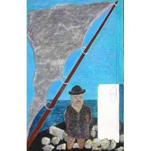 Cildo Meireles (1948) - Sem título - técnica mista sobre papel - 70 x 50 cm - assinada canto inferior esquerdo - 1981