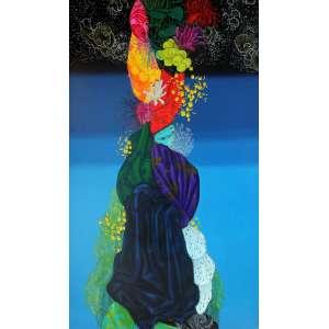 Mariana Palma (1979) - Sem título - óleo sobre tela - 100 x 200 cm - sem assinatura - 2012 - Reprodução: Livro Mariana Palma - Rio de Janeiro 2013, página 227.