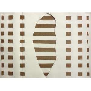 José Resende (1945) - Sem título - recorte e colagem - 50 x 70 cm - assinada no verso - 1975