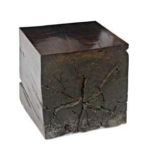 Hugo França - Mesa Acuipe - madeira pequi - 44 x 44 x 44 cm - 2004 - Acompanha Certificado.