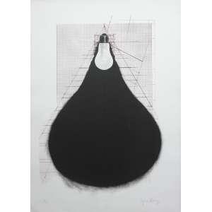 Regina Silveira (1939) - Sem título - gravura P.A. - 70 x 50 cm - assinada canto inferior direito - 1995