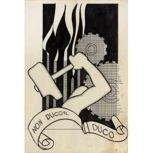 J. Carlos (1884 - 1950) - Sem título - nanquim - 22 x 15,5 cm - sem assinatura