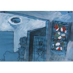 Carlos Fajardo (1941) - Sem título - pastel e guache - 32 x 48 cm - assinada canto inferior direito - 7.2.1973