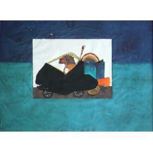 Artur Barrio (1945) - Sem título - técnica mista sobre papel - 49 x 64 cm - assinada lado esquerdo - 1976 Paris