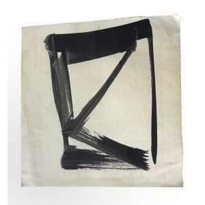 Amilcar de Castro (1920 - 2002) - Sem título - nanquim - 28 x 29 cm - assinada inferior direito - 1993