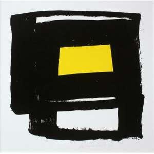 Amilcar de Castro (1920 - 2002) - Sem título - gravura 22/30 - 70 x 70 cm - assinada canto inferior direito - 1997