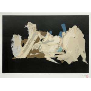 Manabu Mabe (1924 - 1997) - Sem título - serigrafia edição 72/100 - 40 x 60 cm - assinada canto inferior direito - 1961