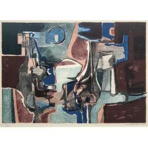 Roberto Burle Marx (1909 - 1994) - Sem título - gravura edição 83/100 - 45,5 x 65 cm - assinada canto inferior direito - 1984