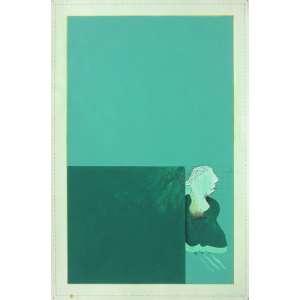 Ivald Granato (1949 - 2016) - Sem título - guache e grafite - 51 x 34 cm - assinada canto inferior direito - 1972
