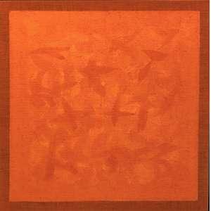 Amélia Toledo (1926 - 2017) - Sem título - acrílica sobre tela - 90 x 90 cm - sem assinatura