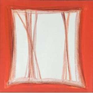 Maria Leontina (1917 - 1984) - Sem título - acrílica sobre tela - 40 x 40 cm - assinada canto inferior direito e verso - 1973