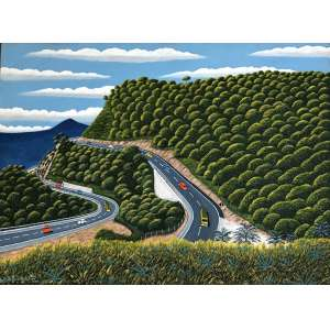 Agostinho Batista De Freitas (1927 - 1997) - Sem título - óleo sobre tela - 70 x 95 cm - assinada canto inferior esquerdo - 1988