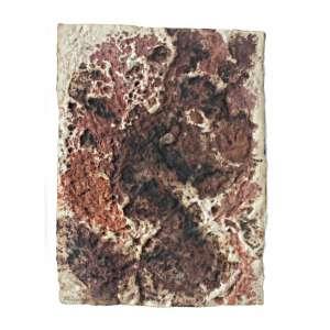 Frans Krajcberg ( 1921 - 2017 ) Relevo - técnica mista sobre papel - 66 x 50 cm - assinada canto inferior esquerdo - 1964