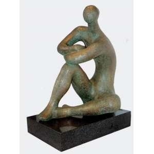 Bruno Giorgi ( 1905 - 1993 ) Sem título - bronze - 78 x 63 x 48 cm - assinada
