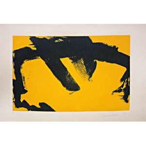 Tomie Ohtake ( 1913 - 2015 ) Sem título - gravura em metal PA - 70 x 100 cm - assinada canto inferior direito - 1988