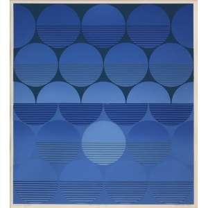 Dionísio Del Santo (1925 - 1999) - Permuta IV - serigrafia 4/145 - 46 x 42 cm - assinada canto inferior direito - 1974