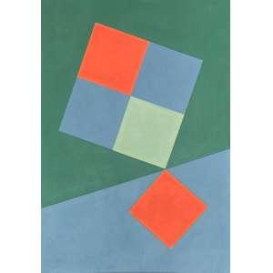 Dionísio Del Santo (1925 - 1999) - Sem título - óleo sobre tela - 100 x 70 cm - assinada no verso - 1995