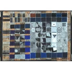 Leonilson (1957 - 1993) - Palavras - aquarela, nanquim e tinta de caneta permanente sobre papel - 50 x 70 cm - assinada canto inferior esquedo - 12.02.1981 - Registrado Projeto Leonilson PL.0620.0/00
